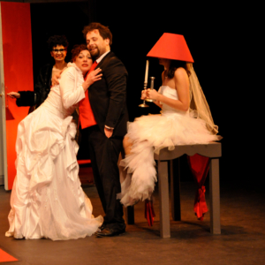 Vivent les mariés ! © Nolwenn Hervio