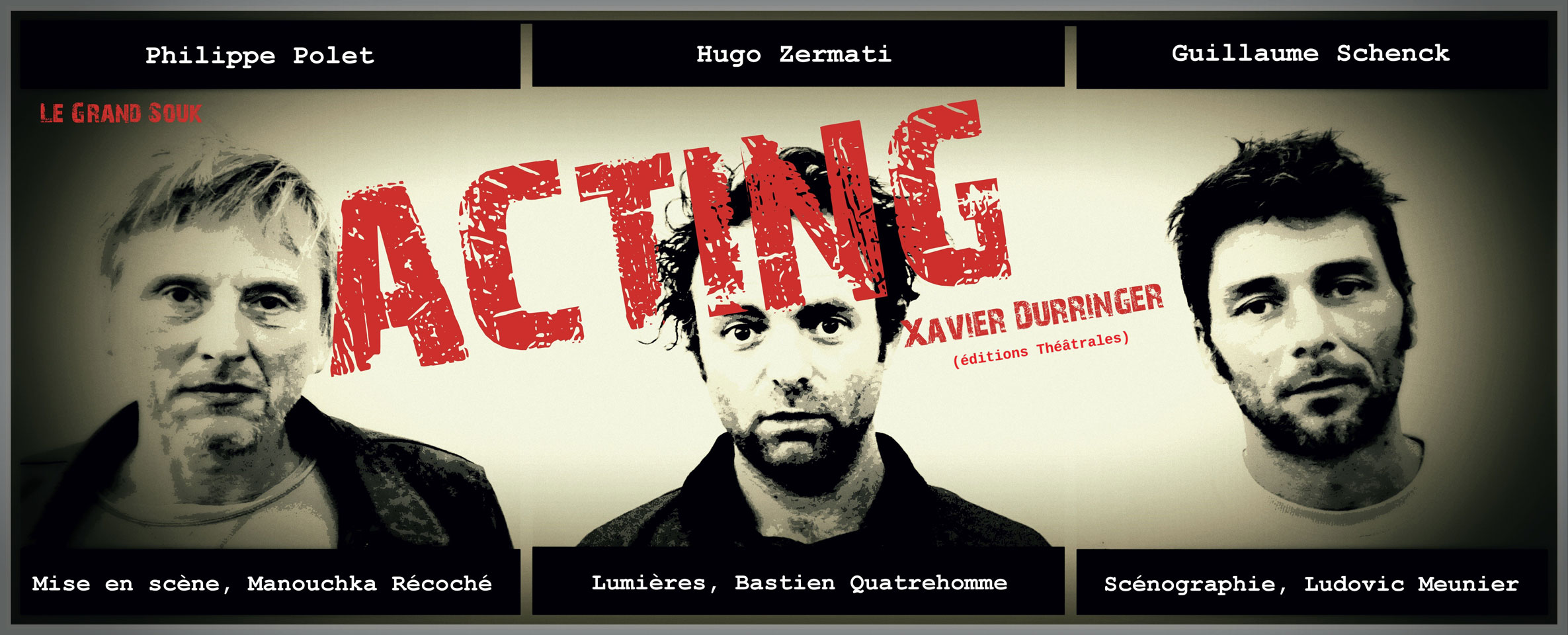 Affiche Acting