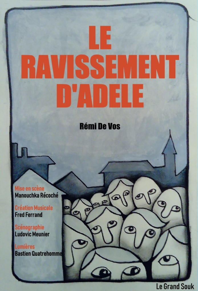 Affiche Le Ravissement d'Adèle