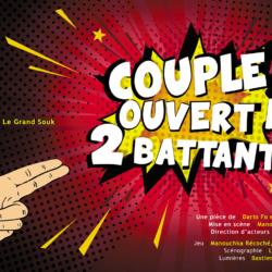Affiche Couple ouvert à deux battants
